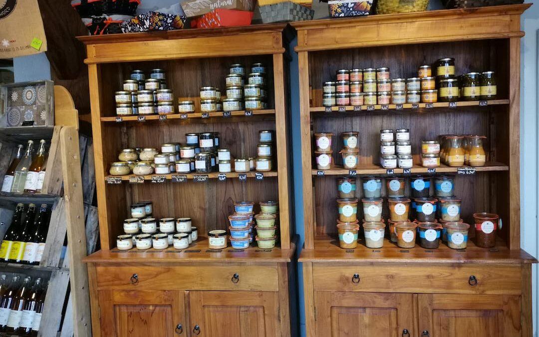 Produits partenaires de la champignonnière Cussangy